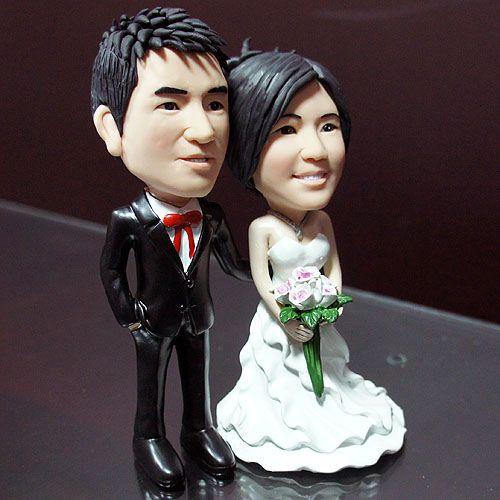 指定版婚禮公仔