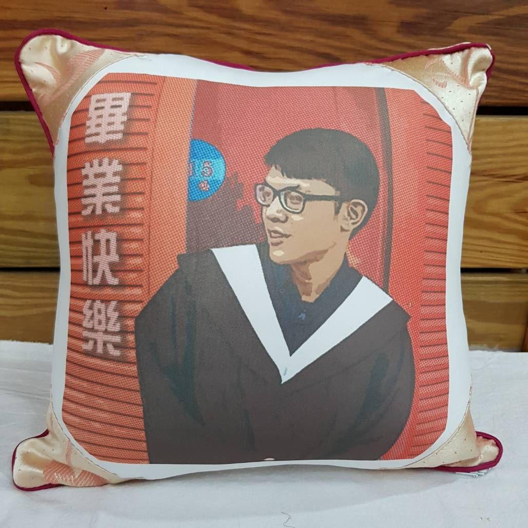 客製 抱枕 轉印