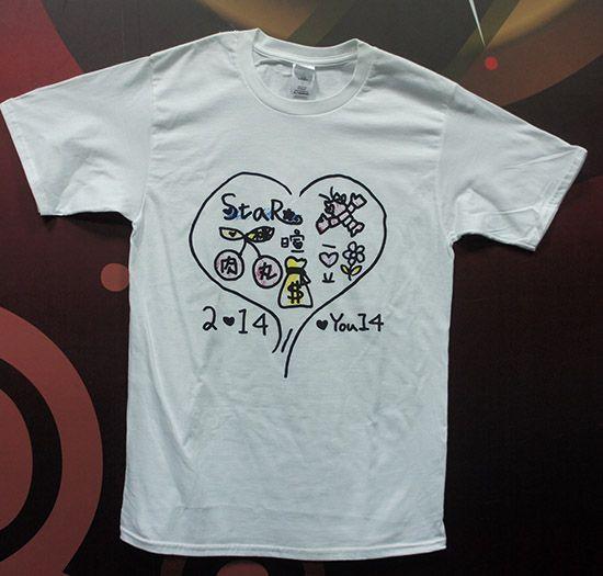 棉質T恤 彩印