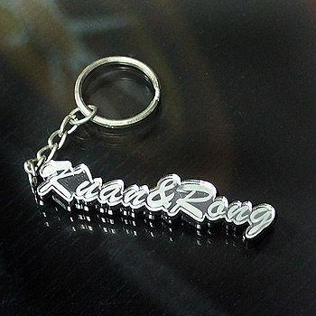 文字造型 鑰匙圈