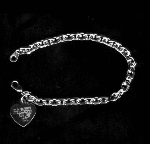 金屬項鍊、手鍊 雕刻