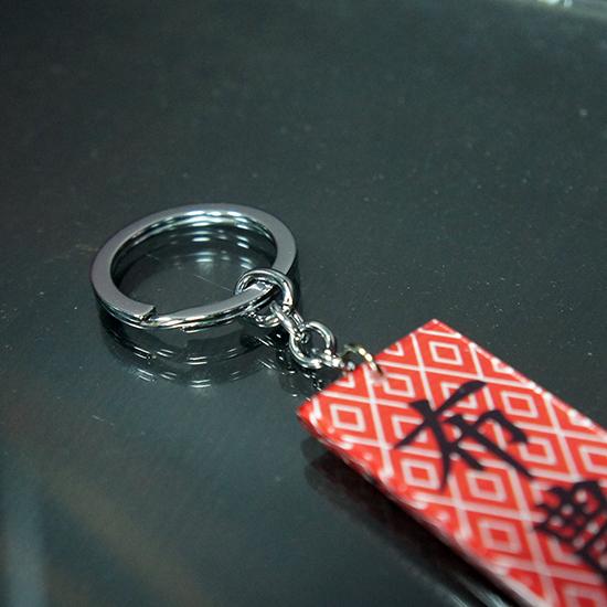 方形、圓形造型 鑰匙圈