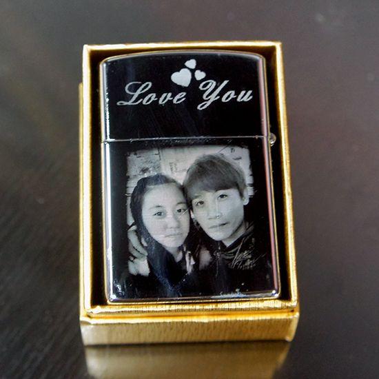金屬打火機、菸盒 彩印  雕刻