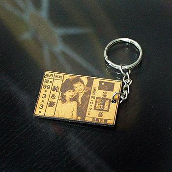 客製化外型切割鑰匙圈