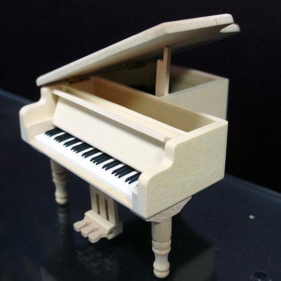 原木音樂盒雕刻 彩印